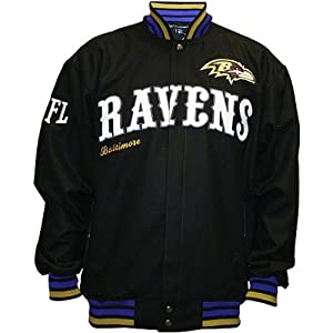 NFL Baltimore Ravens First Down Wool Jacket Men's by MTC Marketing