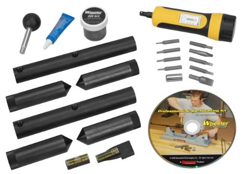 Wheeler Scope Mounting Kit Combo 1-inch 30mm from Wheeler