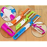 1pc Kitchen Tool Fruit Vegetable Peeler Radish Potato Cutter Kitchen Cutlery Kitchen Cooking Tool(Color:Random)