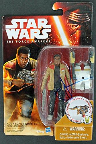 J.J. Abrams Star Wars Authentic Signed Star Wars Finn Action Figure PSA #AA84073