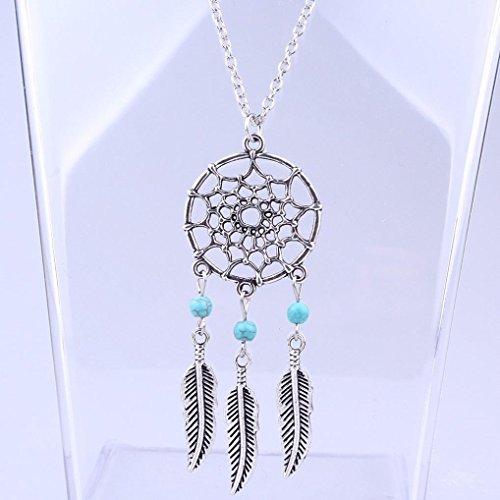 Willtoo® Retro Jewelry Dream Catcher Pendant Chain Necklace