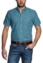 Ben Sherman Men's Marl Base Woven Shirt