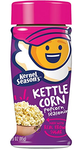 Kernel Season's Kettle Corn Popcorn Seasoning, 3.0 Ounce Shakers (Pack of 6) (Kettle Corns compare prices)