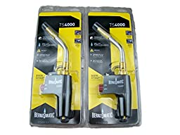 Set of 2 - Torch Tips for Medium Propane Gold Melting Furnace Bernzomatic TS4000