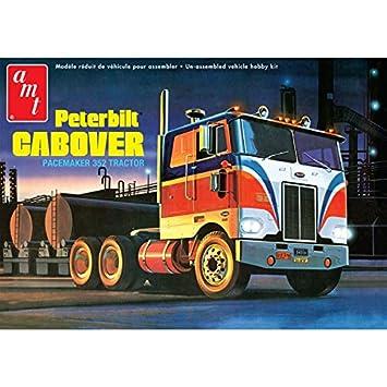 """Amt Echelle 1: 25""""Peterbilt cabover Pacemaker 894,1cm Tracteur Modèle Kit"""