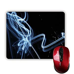 Sale-mall Dark Light MousePad Rectangle Non-Skip Rubber Mouse Pad 220mm x 180mm x 3mm from Sale-mall