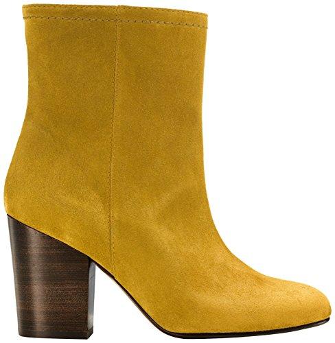 Castañer - MEGALIE / suede, Stivaletti da Donna, Arancione(Mustard), 40