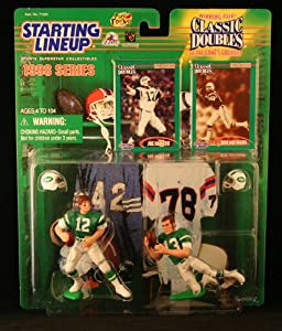 JOE NAMATH NEW YORK JETS & DON MAYNARD NEW YORK JETS 1998 NFL Classic Doubles... by Starting Line Up