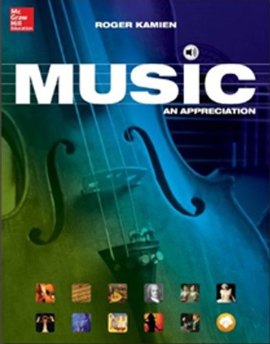 Music: An Appreciation, Brief Edition- Standalone book, by Roger Kamien