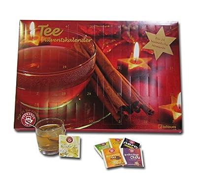 Tee-Adventskalender 2016 - Teekanne, 25 Teekompositionen für eine genussvolle Adventszeit - 56 x 38 cm von teNeues Calendars & Stationery bei Gewürze Shop