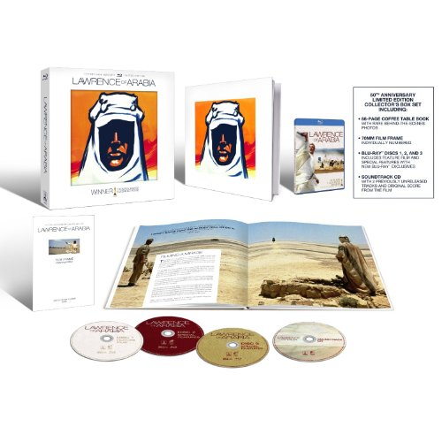 Lawrence of Arabia (50th Anniversary Collector's Edition) [Blu-ray]