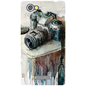 Sony Xperia M Back cover - Camera Designer cases