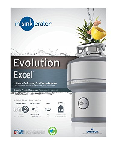 Insinkerator Evolution Excel 1 0 Hp Household Garbage