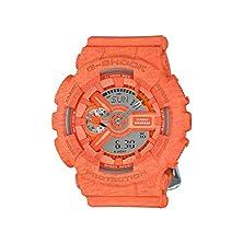 buy Casio G-Shock S Series Heather Orange Resin Analog / Digital Quartz Unisex Watch Gmas110Ht-4A