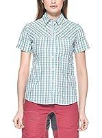 Salewa Camisa Mujer Sira Dry Am W (Blanco / Cielo)