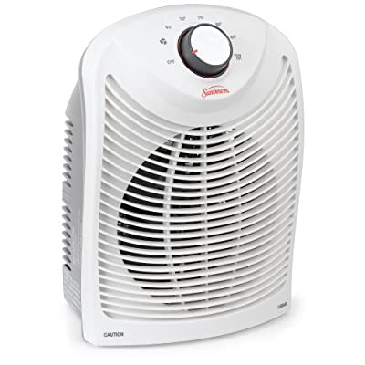 Amazoncom sunbeam sfh431 um bathroom heater and fan for Space heater for bathroom