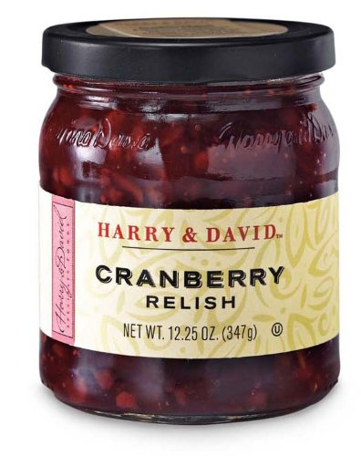 Harry and David country cranberry relish, 10-oz., glass jar