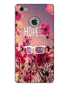 Hugo Iphone 6 Apple Cut Back Cover Hard Case Printed Designer Multicolour