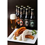 【ウインナー&金賞ビールB (4-5人向)】 世界3位の職人が作るウインナーと、国際大会金メダルビール ランキングお取り寄せ