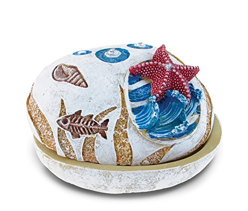 Puzzled Nautical Stone Trinket Box, Starfish