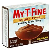 MY T FINE Pudding, Sugar Free Chocolate, 2.1-Ounce Boxes (Pack of 24)
