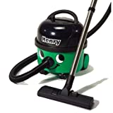 Numatic HVR200-22 Henry Bagged Cylinder Vacuum Cleaner,Green/Black, 1200W