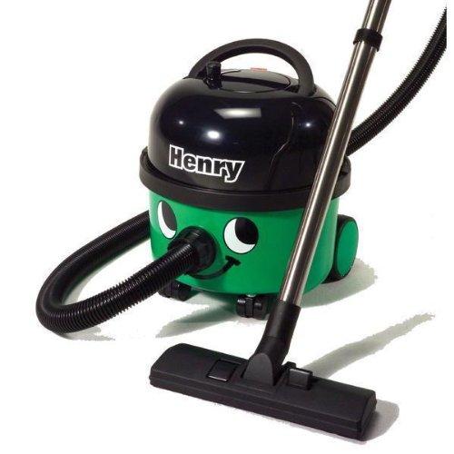 Numatic HVR200-22 Henry Bagged Cylinder Vacuum Cleaner,Green/Black, 1200W