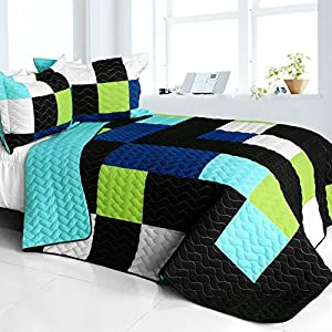 Deep sea diving 3pc vermicelli quilted for Quilted kitchen set
