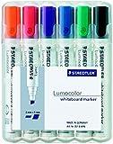 Staedtler 351 B WP6 Board-Marker Lumocolor whiteboard marker, Staedtler Box mit 6 Farben