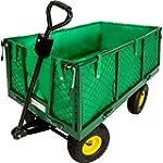 TecTake Chariot de transport jardin r...