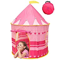 Kiddey Princess Castle Kids Play Tent…