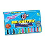 Mr. Sketch Scented Markers, Assorted Colors, 12 Pack (20072)
