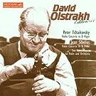 Concerto pour violon en r� mineur, op 47 / Humoresques op 87 / Concerto pour violon en r� majeur, op 35