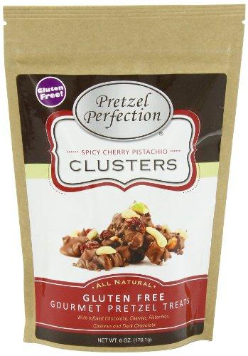 Pretzel Perfection Gluten Free Clusters, Spicy Cherry Pistachio, 6 Ounce