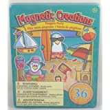 Magnetic Creations Penguin Party Playset ~ Magnetic Creations