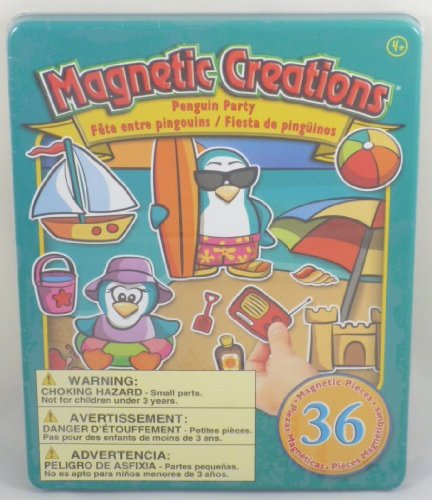 Magnetic Creations Penguin Party Playset - 1