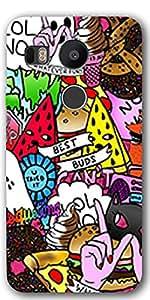 LG Nexus 5X Designer Hard Plastic Back Cover By DigiPrints