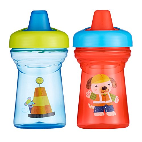 The First Years Soft Spout Sippy Cup - 9oz, 2 pack Mouse and Dog (The First Years 2 Pack Sippy Cup compare prices)