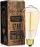 Edison Bulb by Deneve - 1 Pack Deluxe - Thomas Edison Light Bulb, Edison Light Bulb, Edison Bulb Lamp, Edison Bulb 60w, Edison Bulbs, Edison, Light Bulbs, Chandelier Edison Bulb