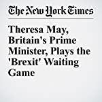 Theresa May, Britain's Prime Minister, Plays the 'Brexit' Waiting Game | Steven Erlanger