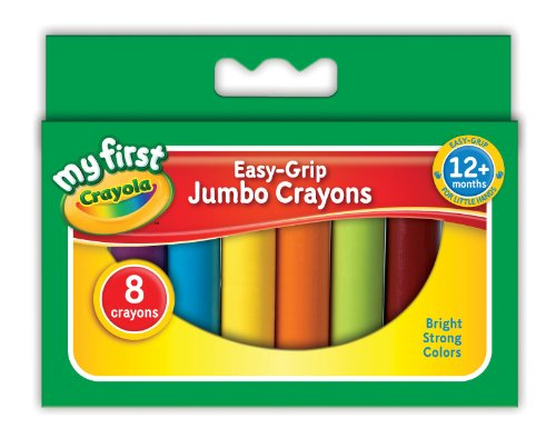 Crayola My First Crayola Jumbo Crayons (8 Pieces) front-1038275