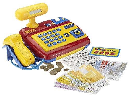 Theo Klein GmbH Kaufladenzubehor - Scannerkasse mit Spielgeld