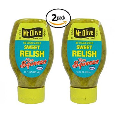 Mt. Olive No Sugar Added Sweet Relish, Low Carb (2 Pack) (Pickle Relish Sugar Free compare prices)