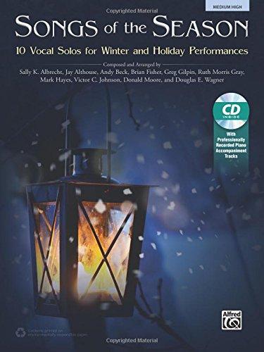 Songs of the Season Hi Voice Book & CD