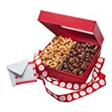 Premium Nut Factory Treats -- Featuring 3 pounds of Handcrafted Chocolate Covered Nuts and Jumbo Gourmet Cashews