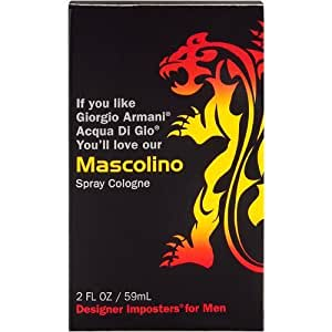 Mascolino 2oz Fragrance Spray Cologne