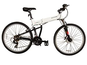 "ECOSMO 26""New Aluminium Folding MTB Bicycle Bike SHIMANO- 26AF18W"