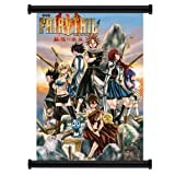 """Fairy Tail Anime Fabric Wall Scroll Poster (31"""" x 43"""") Inches"""