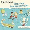 Die schönsten Spiel- und Bewegungslieder Hörbuch von  div. Gesprochen von:  div.