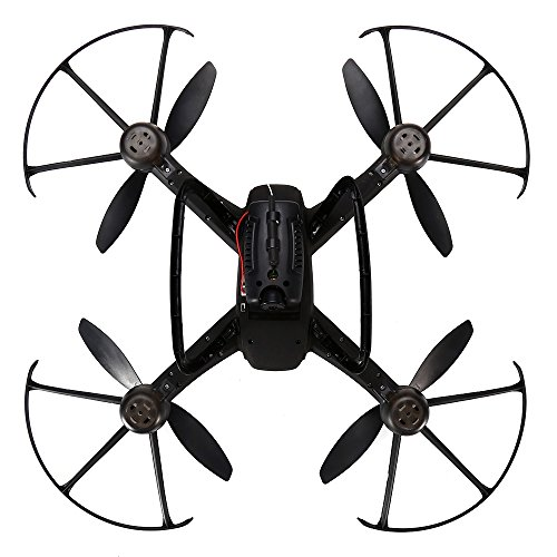 [YOOYOO DM009 5MP Camera 2.4GHz 4CH 6 Axis Gyro Drone - RTF(BLACK)] (Real Fx Masks)